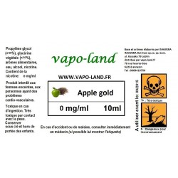 Saveur tabac Apple Gold