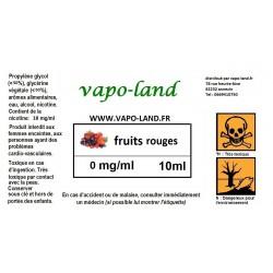 Saveur fruits des bois