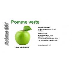 arôme pomme verte