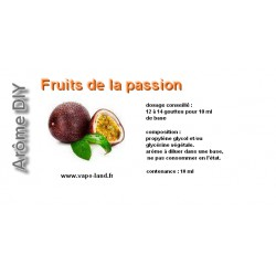 arôme fruits de la passion