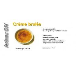 arôme crème brulée