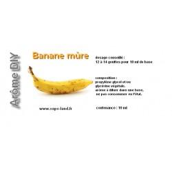 arôme banane mûre