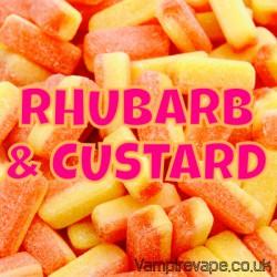 concentré Rhubarbe Custard