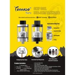 Atomiseur Tormado Nano by Ijoy